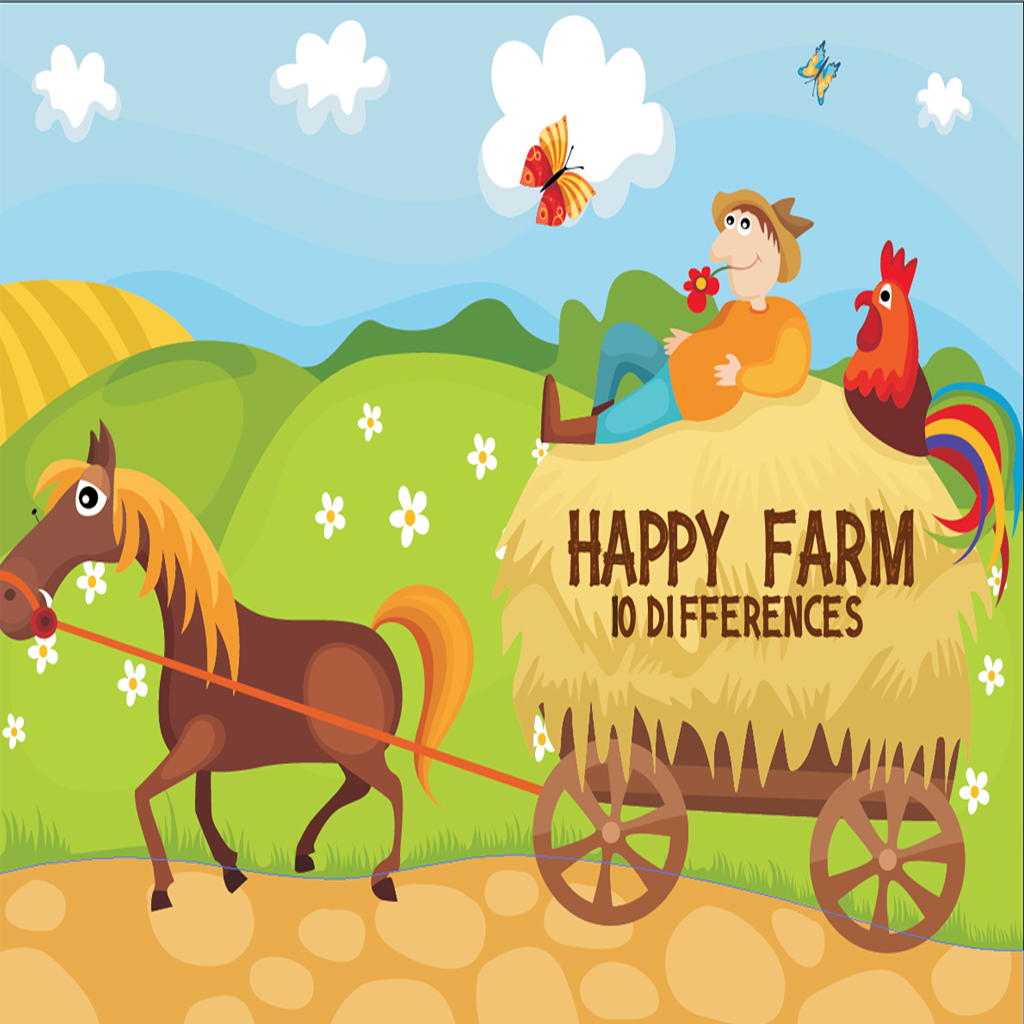 Happy Farm Differences Game
