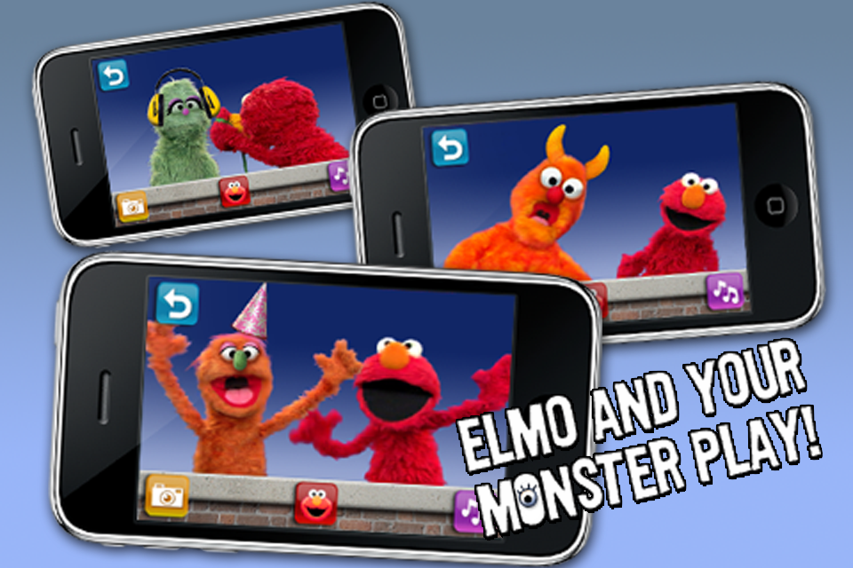 Screenshot Elmo's Monster Maker