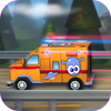 Pocket Scientists - A Little Ambulance in Action Free: 3D Fun Exciting Driving for Kids with Cute Emergency Car  artwork